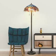 blue floor lamps for less overstock com