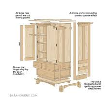 jewelry armoire plans wardrobe cabinet plans home design ideas and pictures