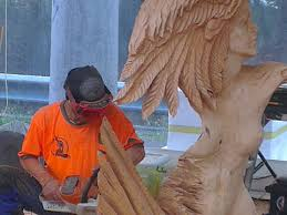 australian chainsaw carving chionship skyhigh
