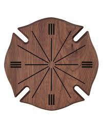 wooden maltese cross solid walnut maltese cross plaque