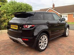 2012 range rover evoque dynamic lux sd4 auto top of the range in