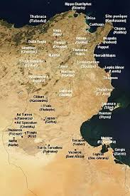 tunisia physical map atlas of tunisia wikimedia commons