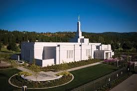 Lds Temples Map Spokane Washington Lds Mormon Temple Driving Directions