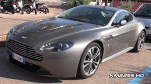 custom aston martin dbs aston martin v12 vantage awesome sound youtube