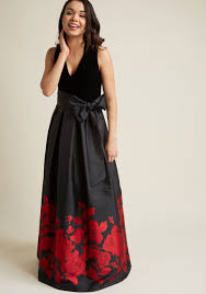 eliza j eliza j velvet maxi dress with pockets modcloth