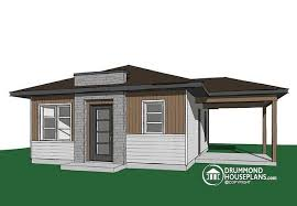 two bedroom home house plan w1910 bh detail from drummondhouseplans