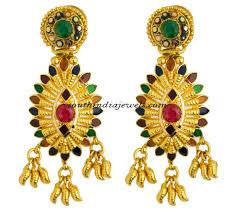 kerala earrings kerala jewellery earrings with price south india jewels