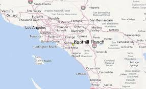 foothill cus map foothill ranch weather station record historical weather for