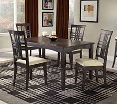 tiburon 5 pc dining table set amazon com hillsdale tiburon 5 piece dining set table chair sets