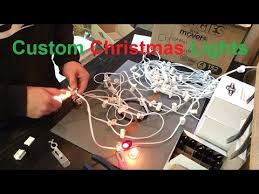 how to install christmas lights tg how to install custom christmas lights part 1 of 2 youtube