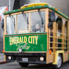 Hop On Hop Off Seattle Map by Emerald City Trolley