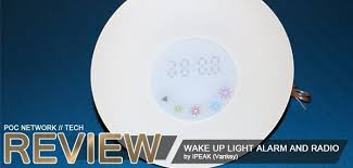 Wake Up Light Alarm Clock Review Ipeak Wake Up Light And Fm Radio Alarm Clock Poc Network