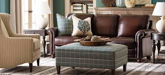 leather sofa living room leather sofas living room furniture bassett furniture