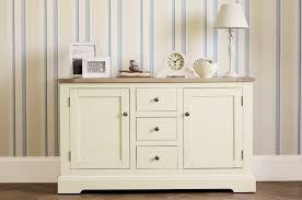 Laura Ashley Furniture by Made To Order Furniture Dorset White 2 Door 3 Drawer Sideboard