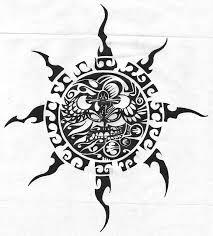 46 most amazing tribal sun tattoo designs u0026 patterns