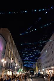 Good Lighting Design A Closer View In Nice A Good Single Cable Catenary Outcome