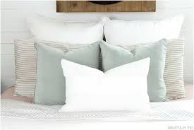 bed bath and beyond pillow inserts euro sham pillow measurements home design remodeling ideas
