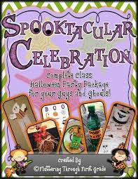 fluttering through first grade spooktacular celebration