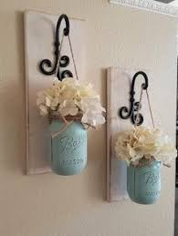 kitchen wall decoration ideas fall wall sconce individual jar sconce flower vase