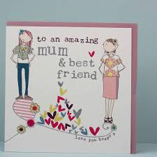 birthday card for best friends best friend birthday card by molly mae notonthehighstreet