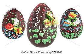 easter eggs decoration chocolate easter eggs with decoration stock photos search