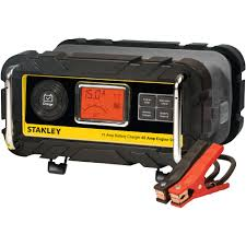 stanley 15a battery charger with 40a engine start walmart com