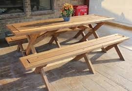 Build A Picnic Table Do It Yourself by Prime How To Build Picnic Table Bench 17 About Remodel Fabulous