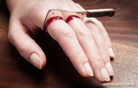 Halloween Costume Ring Clever Gory Meat Cleaver Ring Perfect Key Halloween