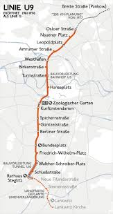 Berlin Metro Map by U9 Berlin U Bahn Wikipedia