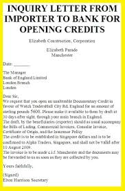 enquries and replies letters business letter examples