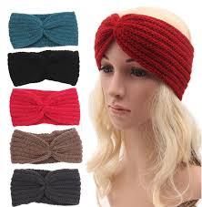 headband ear warmer 2015 winter ear warmer headbands women s fashion wool buttons
