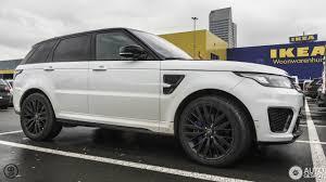 matte white range rover land rover range rover sport svr 27 november 2017 autogespot