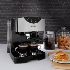 how to make espresso coffee amazon com mr coffee automatic dual shot espresso cappuccino