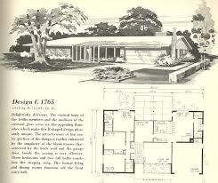 Mid Century Modern Ranch Vintage House Plans 2182 Antique Alter Ego Mid Century Modern