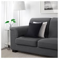 seat sofa tidafors three seat sofa hensta grey ikea