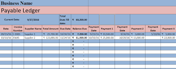 Vendor Management Excel Template Accounts Payable Excel Template Exceldatapro