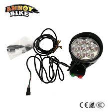 electric skateboard led lights electric skateboard bicycle 36v 48v 60v led light with horn electric