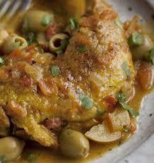 de cuisine marocaine cuisine marocaine tajine de poulet olives et citrons cuisine