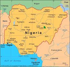nigeria physical map the 25 best map of nigeria ideas on nigeria map