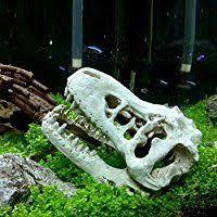 2pcs easter island statue ornament aquarium decor fish tank rock