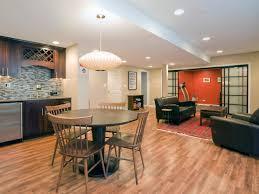 basement decor ideas simple fascinating beige basement room idea