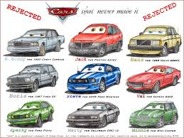 cars characters cars that never made it by wannabemustangjockey on deviantart