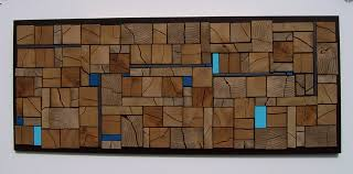 abstract wood wall modern vancouver by scape design
