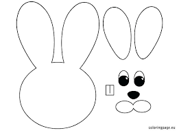 bunny ears coloring page ears coloring page bunny ears coloring pages 7 elephant ears