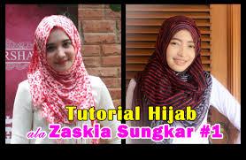 tutorial hijab paris zaskia tutorial hijab ala zaskia sungkar 1