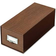 globe weis drawer style index card boxes staples