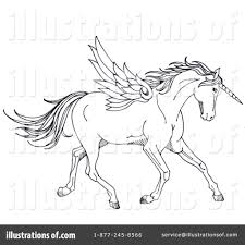 unicorn clipart 1071762 illustration by loopyland