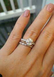 my wedding band one of my rings were similar to yous i wore the diamond