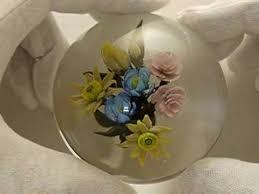 wedding flowers paperweight flower bouquet paperweight