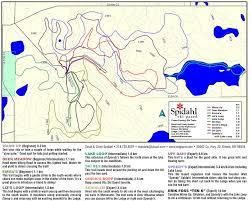 Riverside State Park Trail Map by Northwestern Minnesota Ski Trails Minnesota Trails Magazine